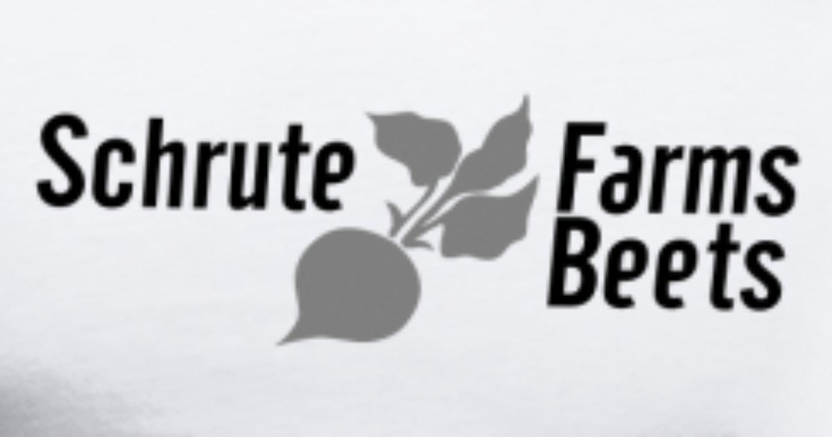 Dwight Schrute Farms Beets T-Shirt