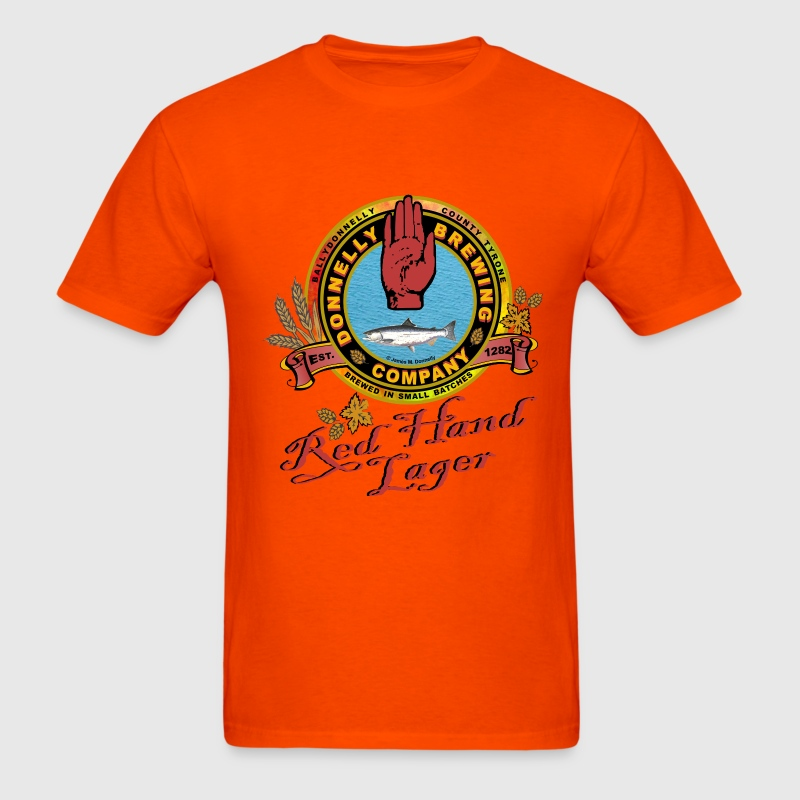 Donnelly brewing company t shirt spreadshirt for Asheville t shirt company