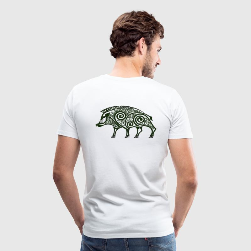 celtic boar - Men's Premium T-Shirt