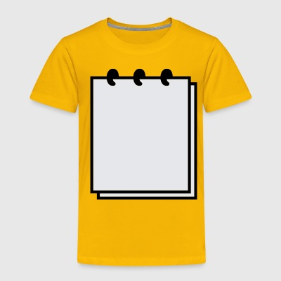 Notebook - Writable Flex - Toddler Premium T-Shirt