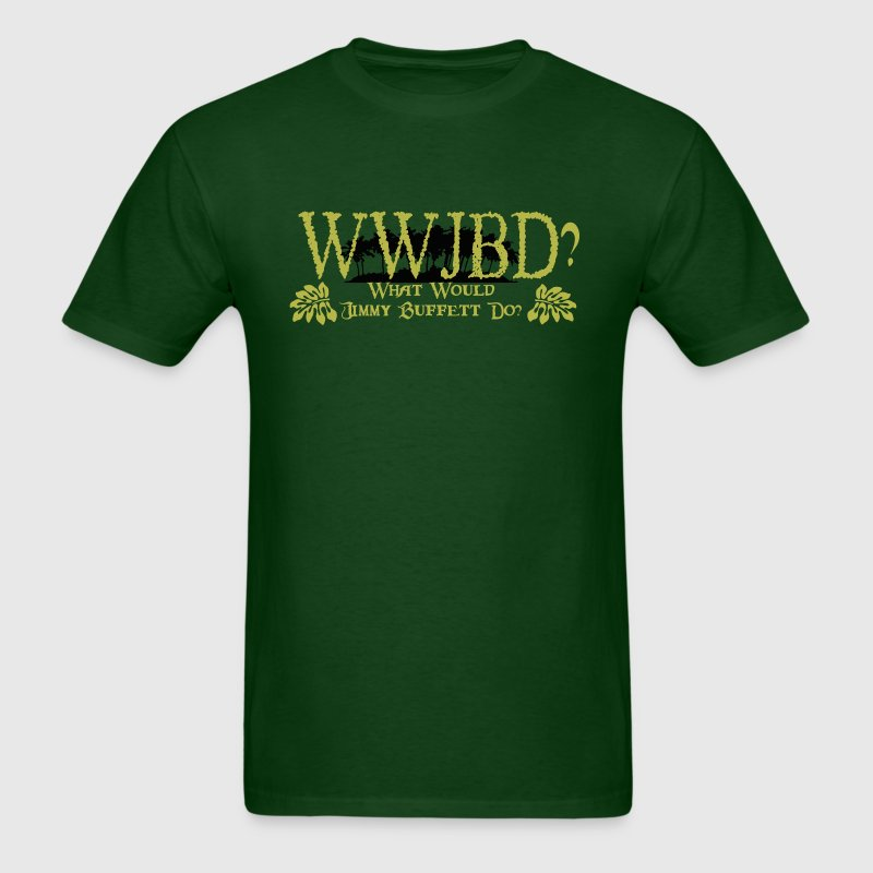 Forest green WWJBD? T-Shirts - Men's T-Shirt