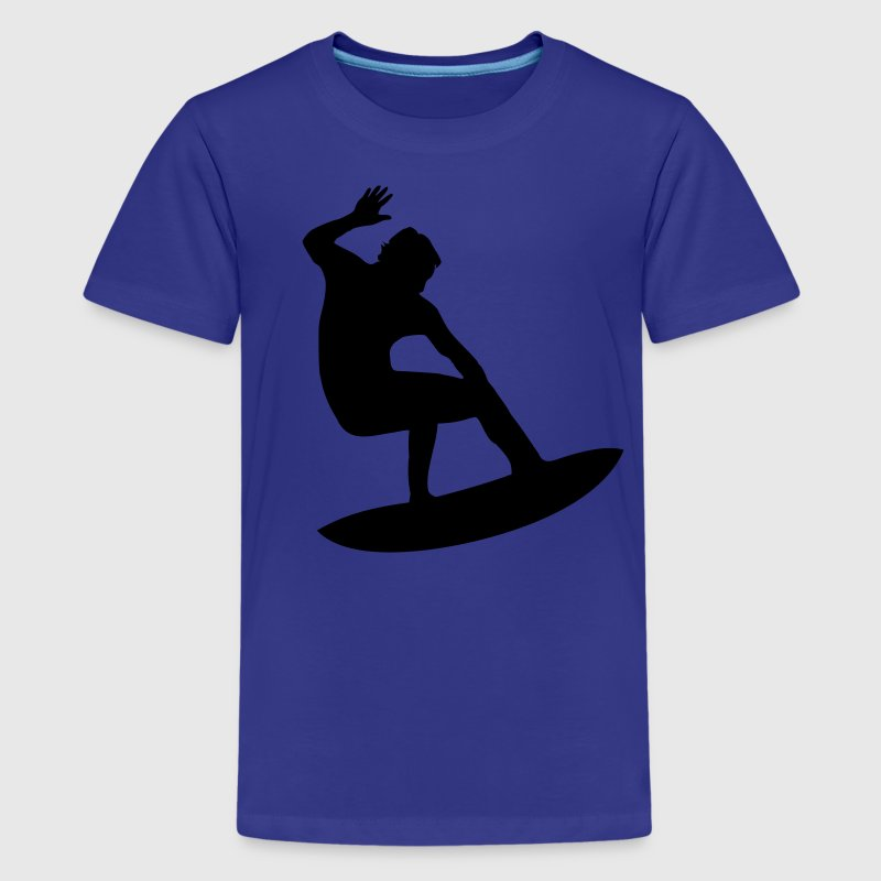 Royal blue Surfer - Surfing Kids Shirts - Kids' Premium T-Shirt