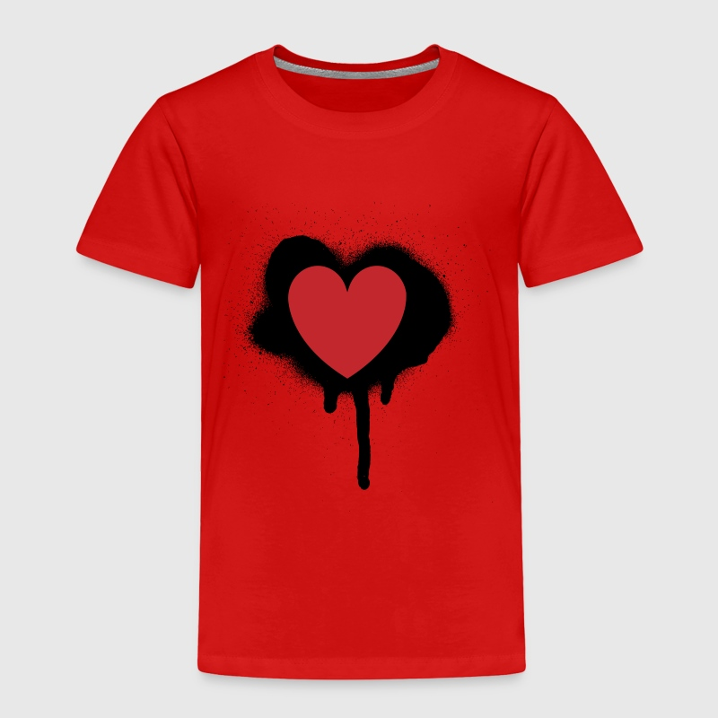 Painted Heart Valentines Day Design T Shirt Spreadshirt