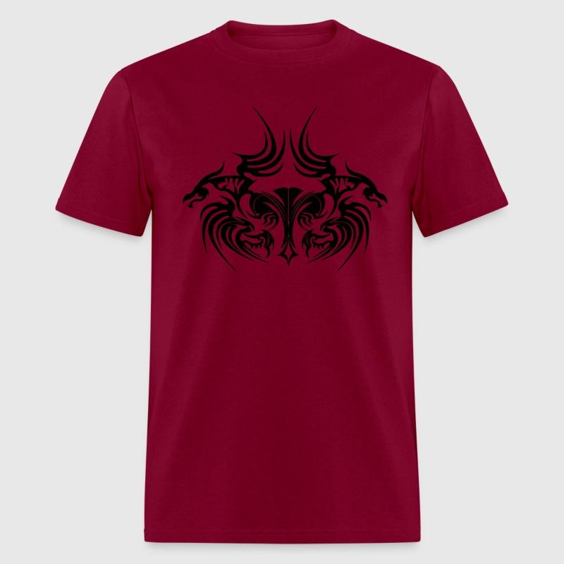 Dragon tattoo t shirt spreadshirt for Tribal tattoo shirt