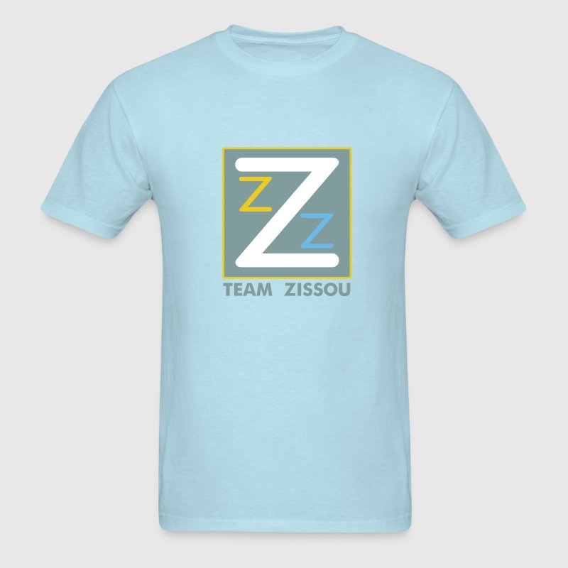 Sky blue Life Aquatic Logo T-Shirts - Men's T-Shirt