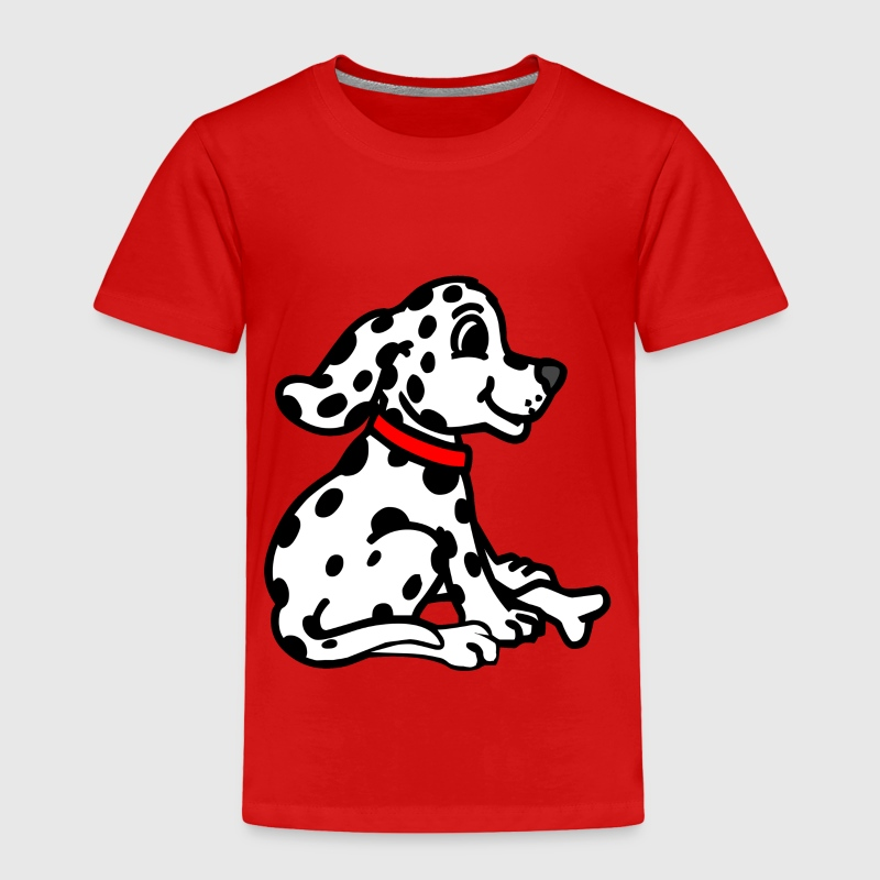 Red dalmatian Toddler Shirts - Toddler Premium T-Shirt