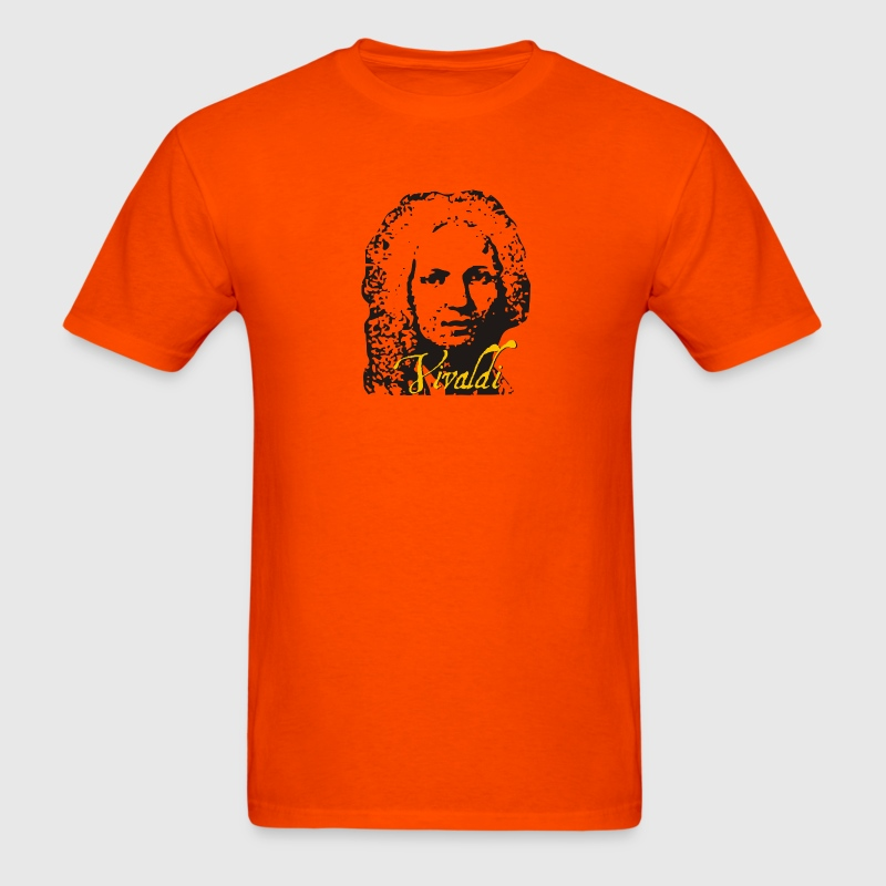 Orange Vivaldi T-Shirts - Men's T-Shirt