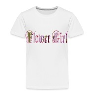 Flower Girl Shirts