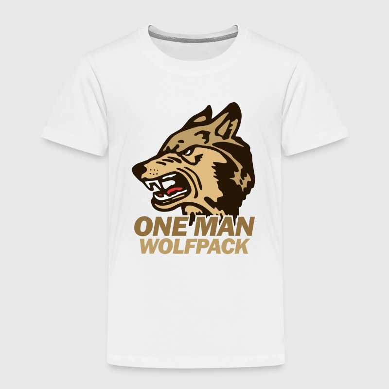 White the Hangover Wolfpack Toddler Shirts - Toddler Premium T-Shirt