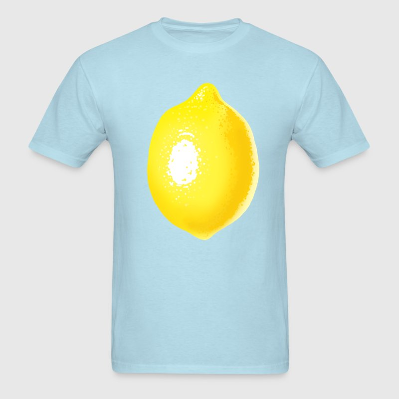 Sky blue Lemon T-Shirts - Men's T-Shirt