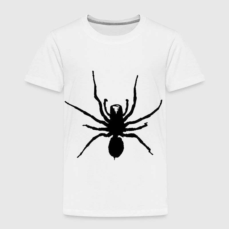 White black spider  Toddler Shirts - Toddler Premium T-Shirt