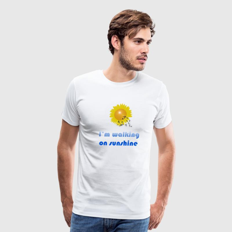 I'm Walking On Sunshine - Men's Premium T-Shirt