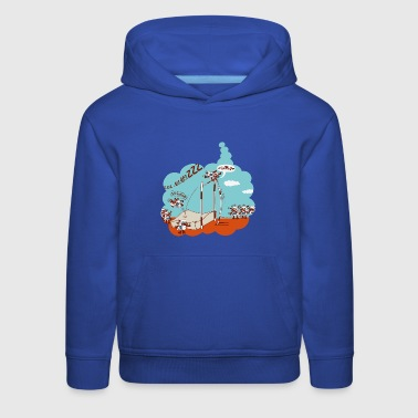 Royal blue Chronic Insomnia Kids' Shirts - Kids' Premium Hoodie