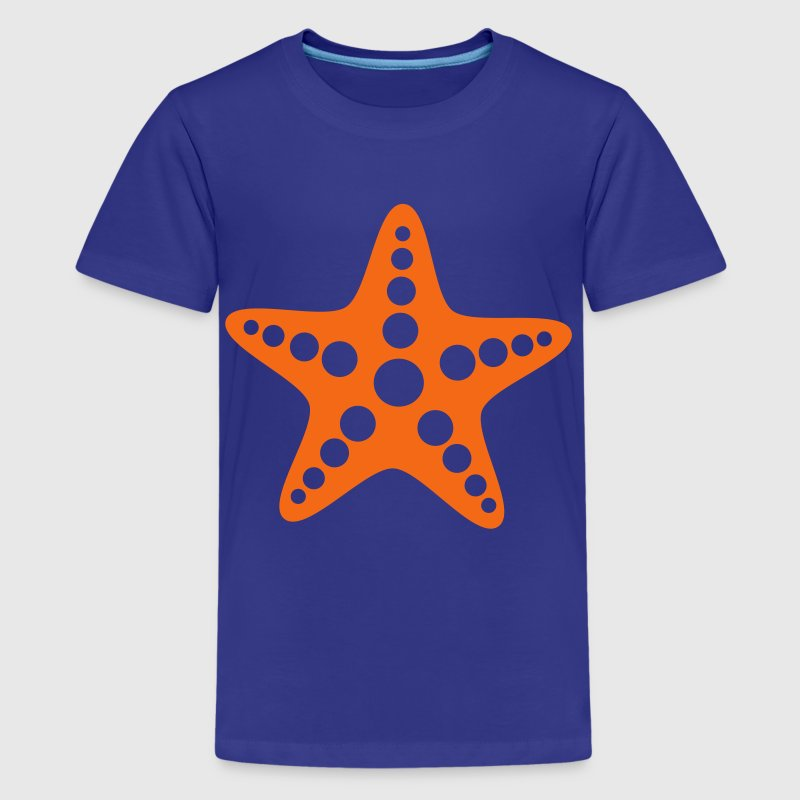Royal blue Starfish Kids' Shirts - Kids' Premium T-Shirt