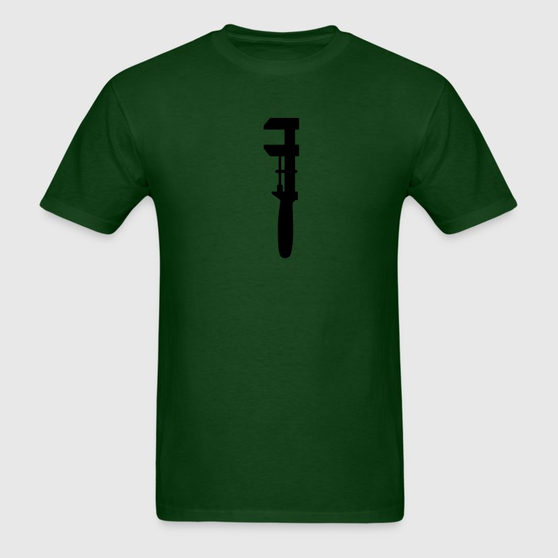 Green with Wrench T Shirt - Men's T-Shirt
