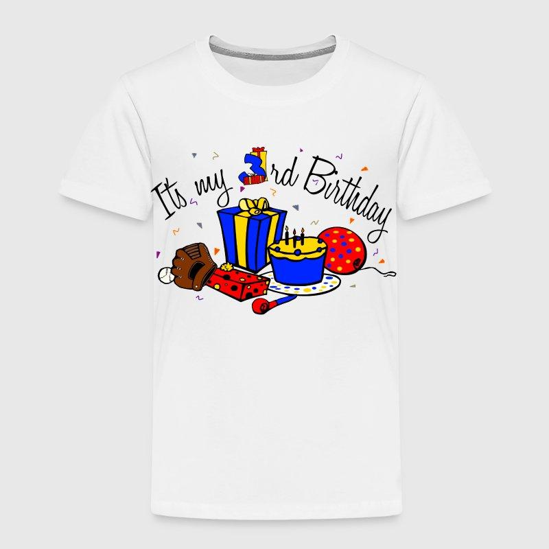 Its my 3rd Birthday-boy T-Shirt | Spreadshirt