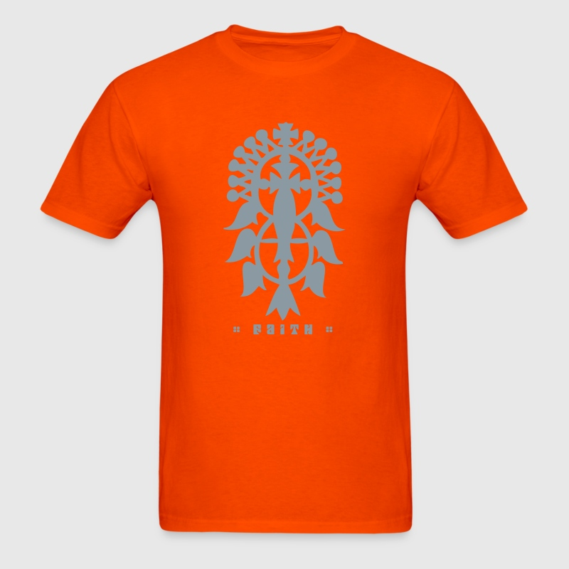 Ethiopian Cross T-Shirts - Men's T-Shirt