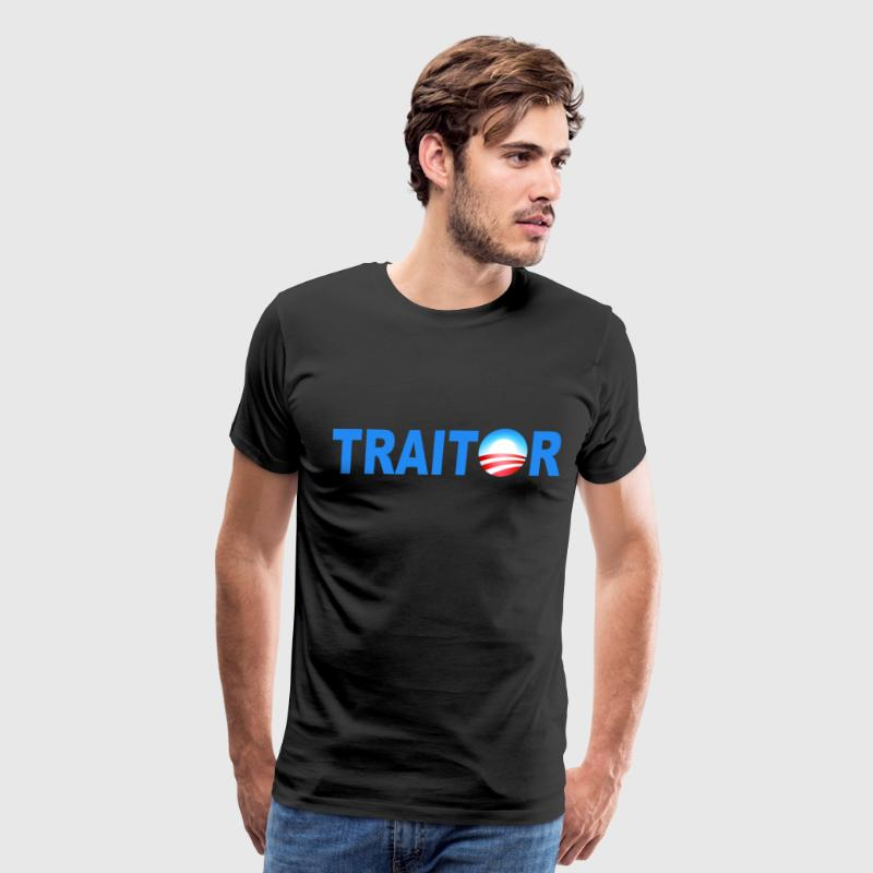 Black Obama Traitor T-Shirts - Men's Premium T-Shirt