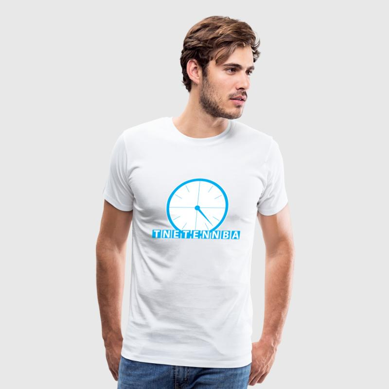 White tnetennba T-Shirts - Men's Premium T-Shirt