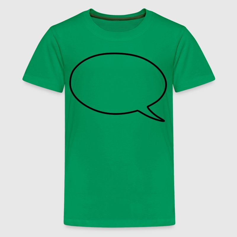 speech bubble Kids' Shirts - Kids' Premium T-Shirt