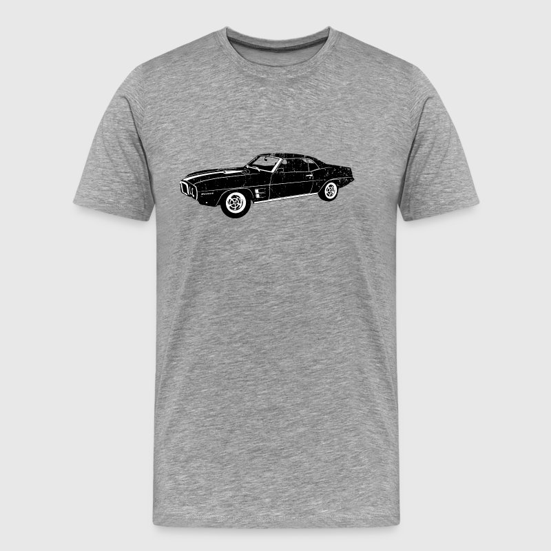 1969 Pontiac Firebird - Men's Premium T-Shirt