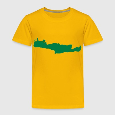 Yellow Crete - Greece Kids' Shirts - Toddler Premium T-Shirt