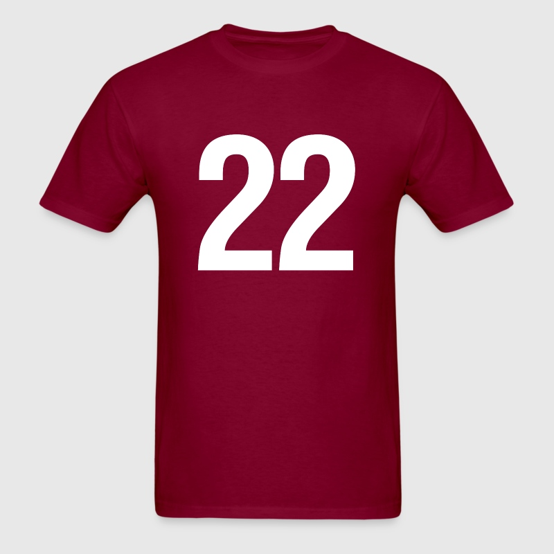 helvetica number 22 T-Shirts - Men's T-Shirt