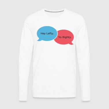 Greeting Arms - Men's Premium Long Sleeve T-Shirt