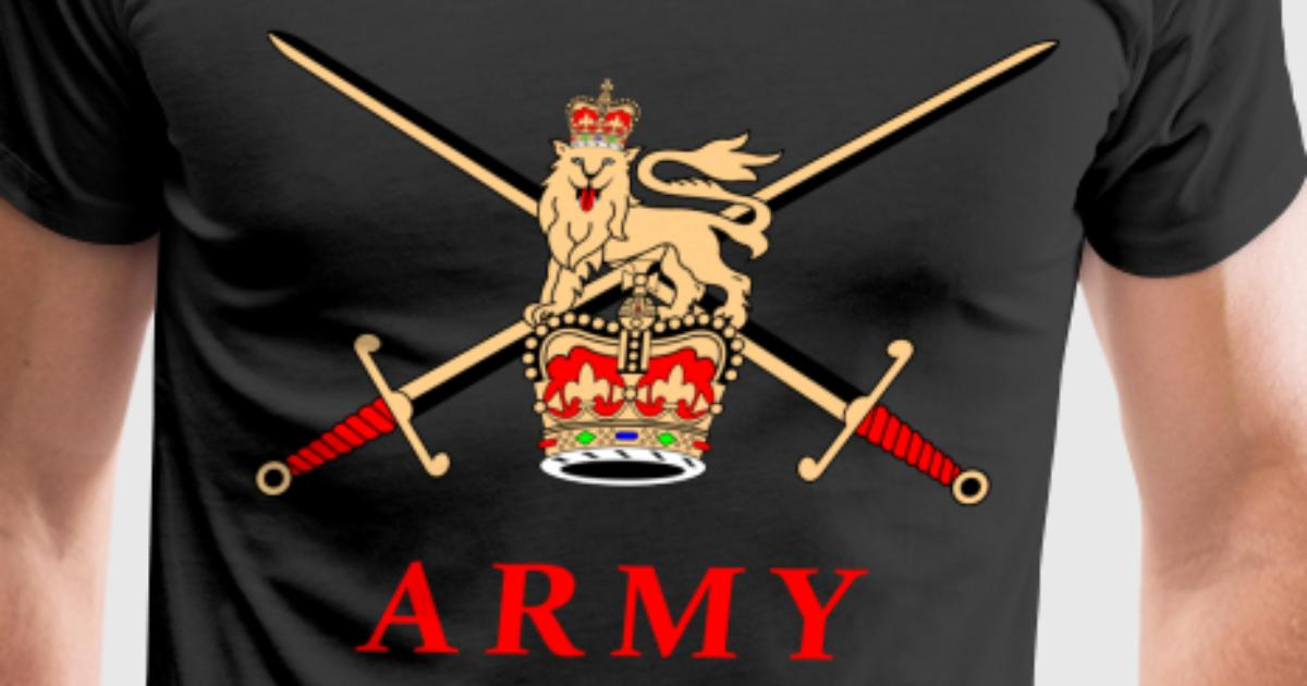 British army t shirt spreadshirt for Army design shirts online