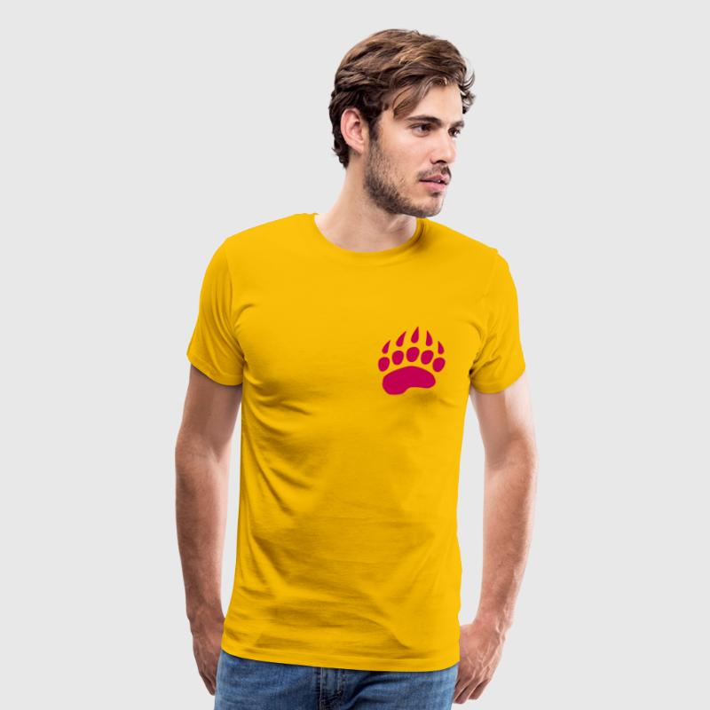 Bear Claw T-Shirts - Men's Premium T-Shirt
