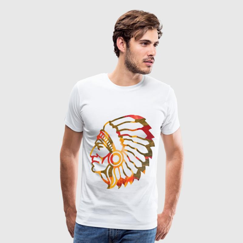 NATIVE AMERICAN INDIAN T-Shirts - Men's Premium T-Shirt