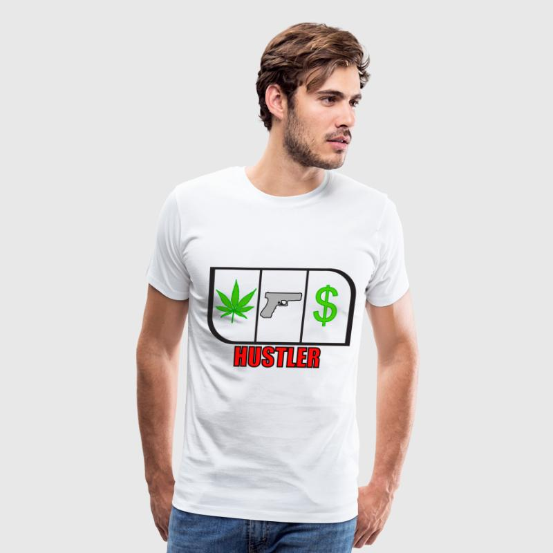 Hustler - Men's Premium T-Shirt
