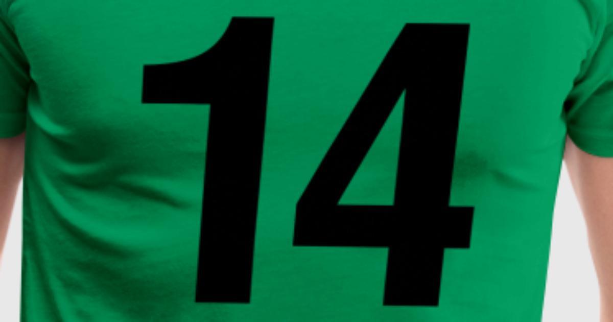 helvetica number 14 T-Shirt | Spreadshirt
