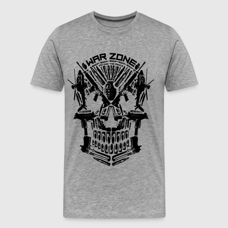 War Skull - Men's Premium T-Shirt