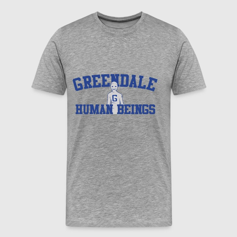 Greendale Human Beings T-Shirts - Men's Premium T-Shirt