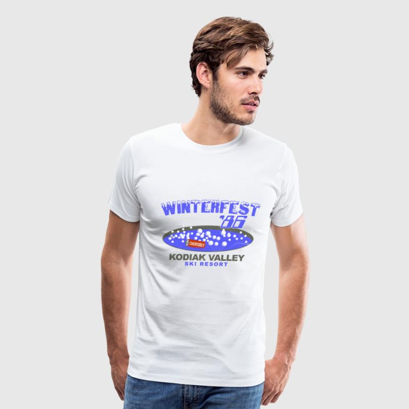 Winterfest 86 Hot Tub T-Shirts - Men's Premium T-Shirt