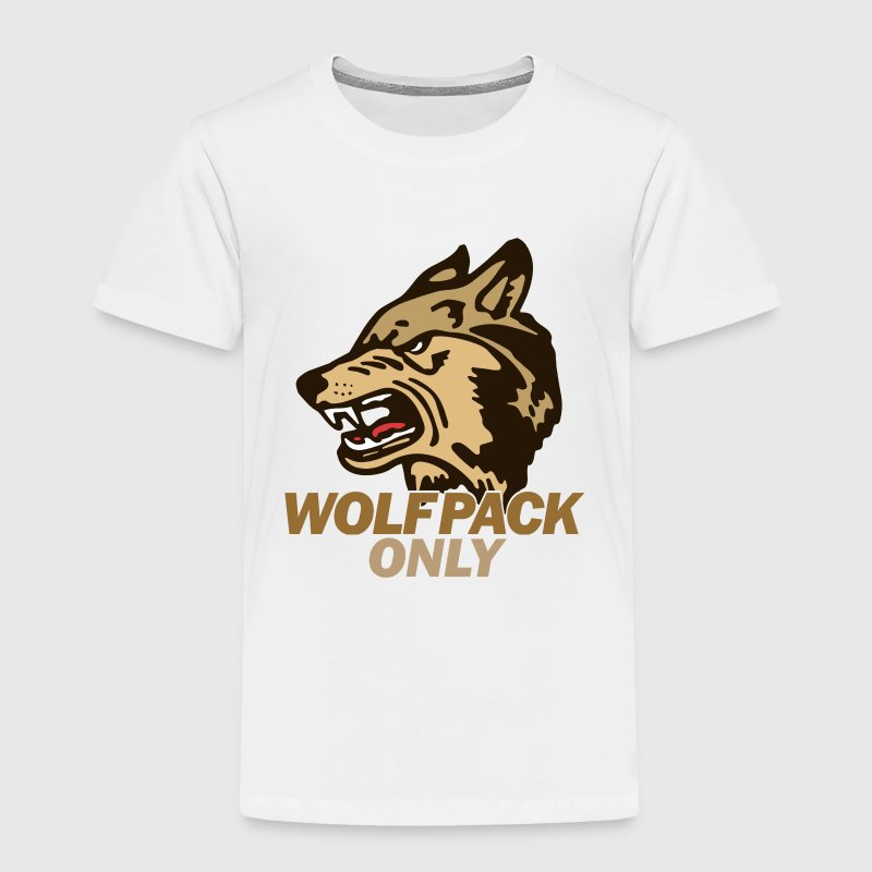 Hangover Wolf Pack Only Toddler Shirts - Toddler Premium T-Shirt