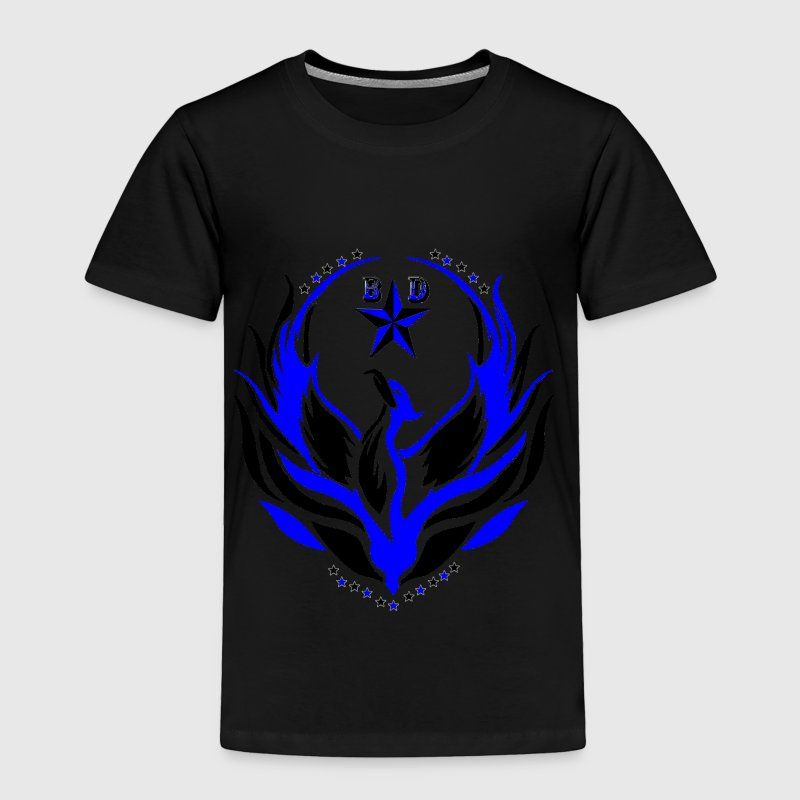 BLACK DELEGATION blue phoenix  Toddler Shirts - Toddler Premium T-Shirt