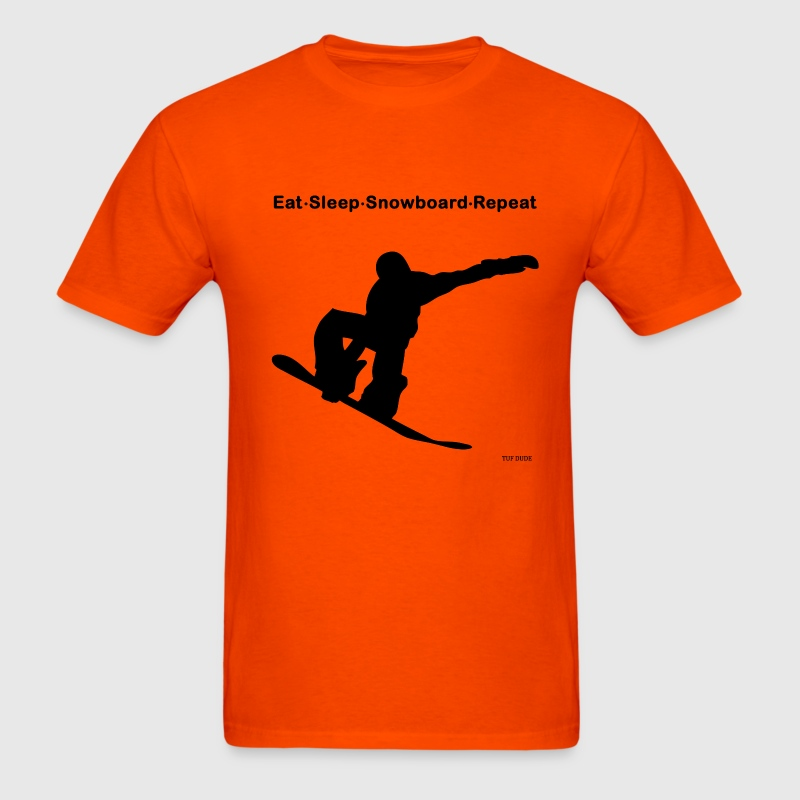 Eat Sleep Snowboard Repeat T-Shirts - Men's T-Shirt