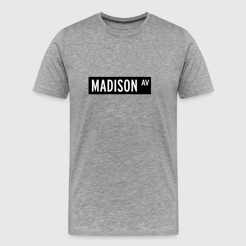 Madison Avenue New York T-shirt - Men's Premium T-Shirt