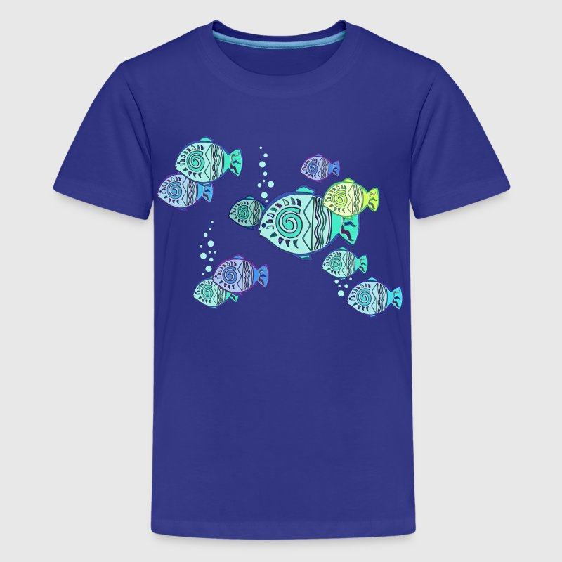 Lucky fish t shirt spreadshirt for Toddler fishing shirts