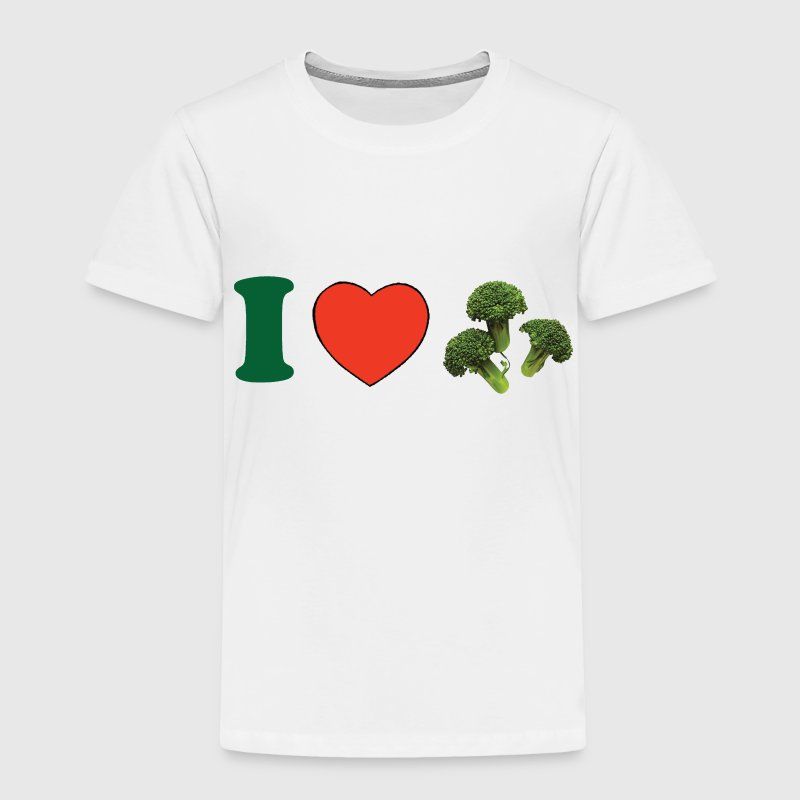 I ♥ Broccoli Baby & Toddler Shirts - Toddler Premium T-Shirt