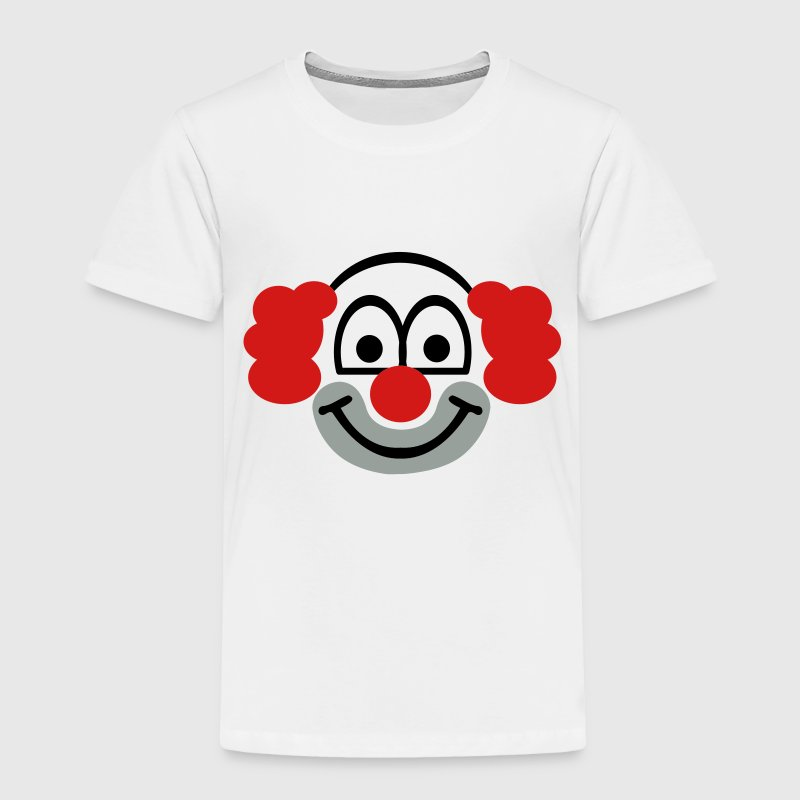 Clown face Toddler Shirts - Toddler Premium T-Shirt