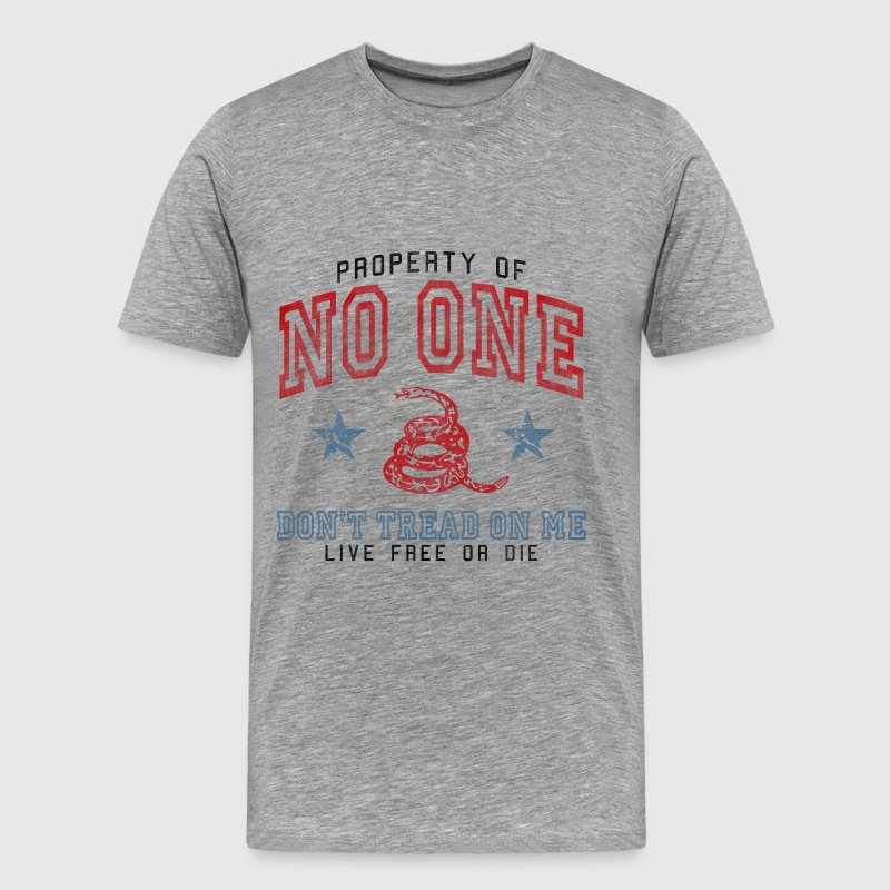 Property of No One T-Shirts - Men's Premium T-Shirt