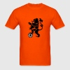 Dutch Lion Weapon with soccer ball T-Shirts - Men's T-Shirt