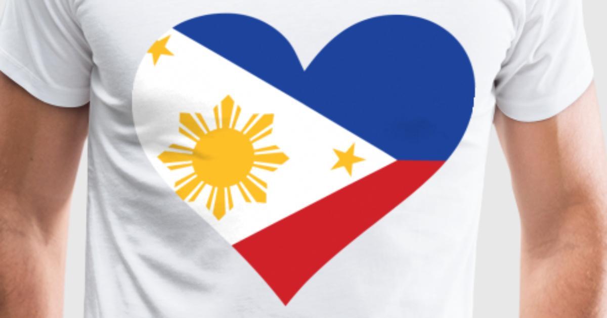 Heart Philippines Dd T Shirt Spreadshirt