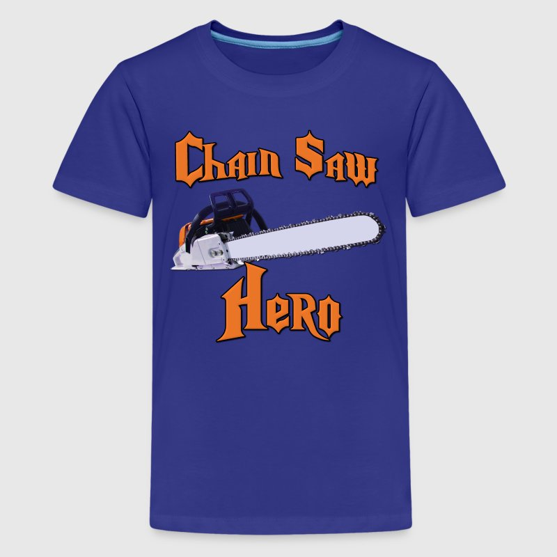 Chain Saw Hero Chainsaw Kids' Shirts - Kids' Premium T-Shirt