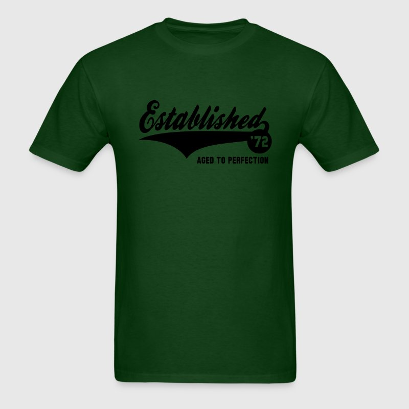 Established 72 - Birthday T-Shirt YG - Men's T-Shirt