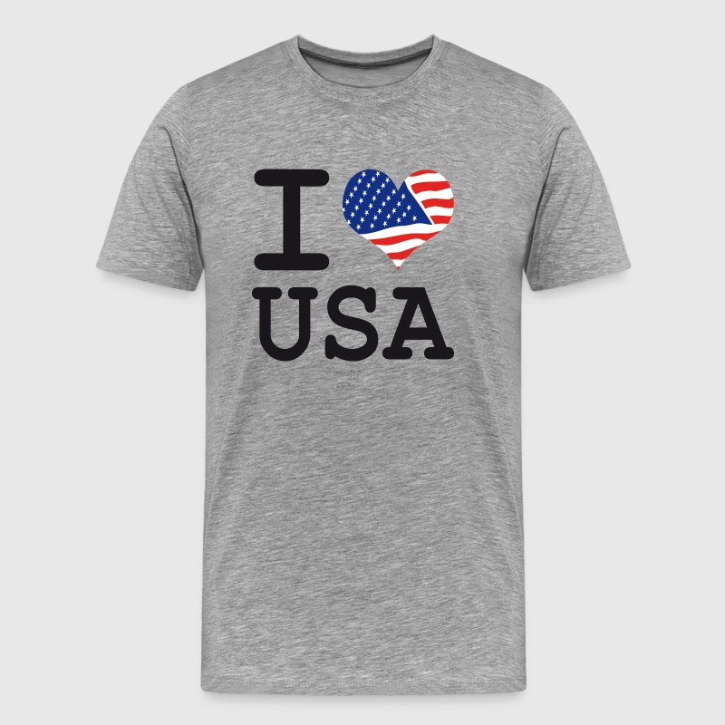 i love USA T-Shirts - Men's Premium T-Shirt