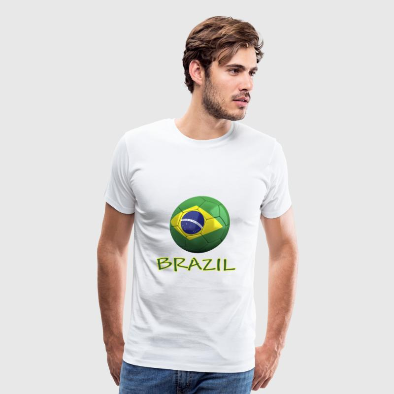 Team Brazil FIFA World Cup T-Shirts - Men's Premium T-Shirt